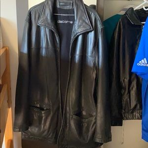 USED Claiborne Lambskin Leather Coat